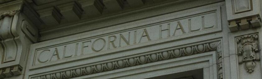 California Hall, Office of the Vice Provost for the Faculty